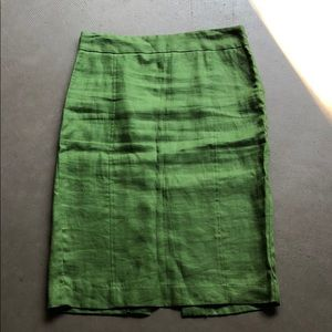 Zara Skirt Sz M Green